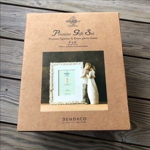 Willow Tree Promise Gift Set Figure And Frame NWT